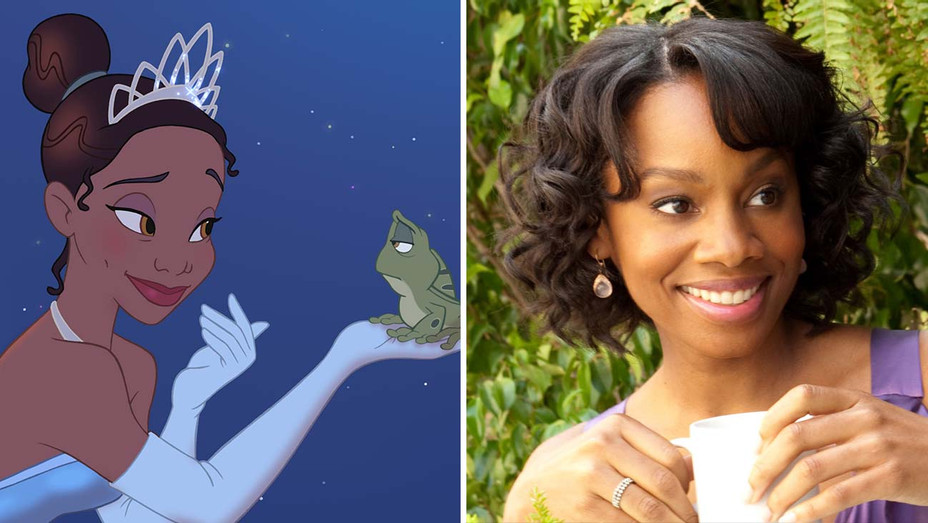 Disney movie Princess and the Frog and the actress Anika Noni Rose - Photofest - Split - H 2020