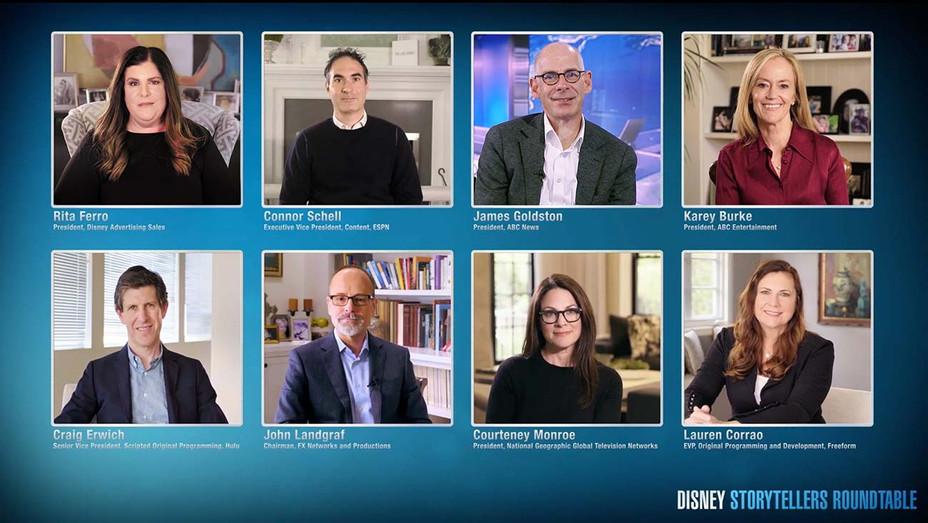 Disney Storytellers Roundtable - Publicity- H 2020