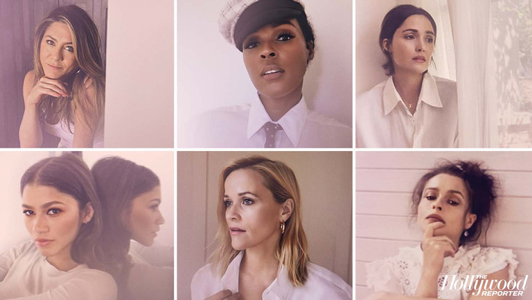 """I'm Not Settling for Lip Service"": Janelle Monae, Jennifer Aniston, Zendaya, Reese Witherspoon, Helena Bonham Carter, Rose Byrne and the Drama Actress Roundtable"