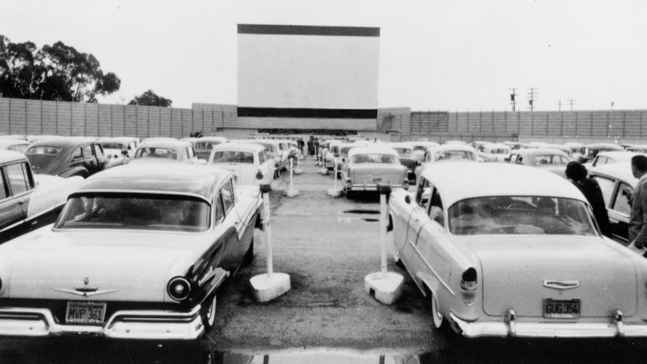 Drive-In Theater New Jersey 1958