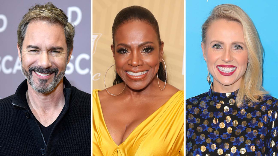 Eric McCormack and Sheryl Lee Ralph and Jessica Holmes - Getty- Split - H 2020