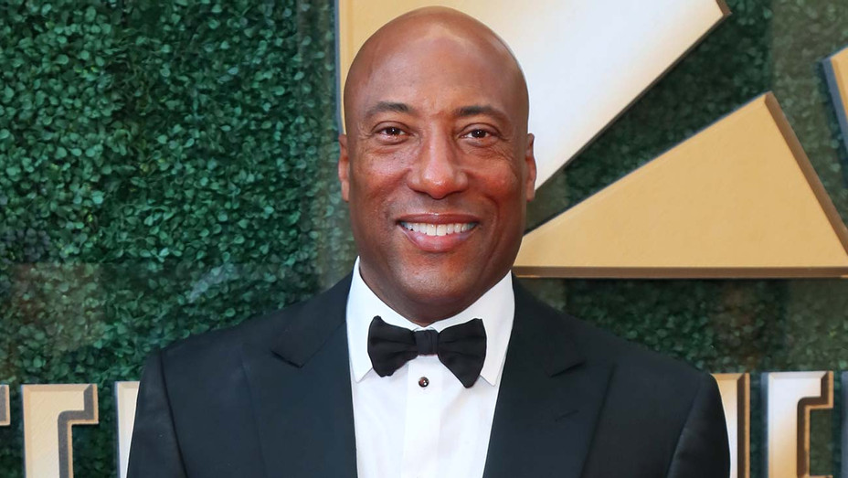 Byron Allen attends an Oscar viewing and after party - Getty-H 2020