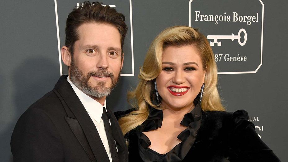 Brandon Blackstock and Kelly Clarkson attend the 25th Annual Critics' Choice Awards  - Getty-H 2020