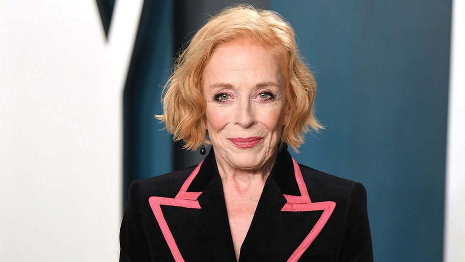 Holland Taylor arriving for the 2020 Vanity Fair Oscar Party - Getty-H 2020