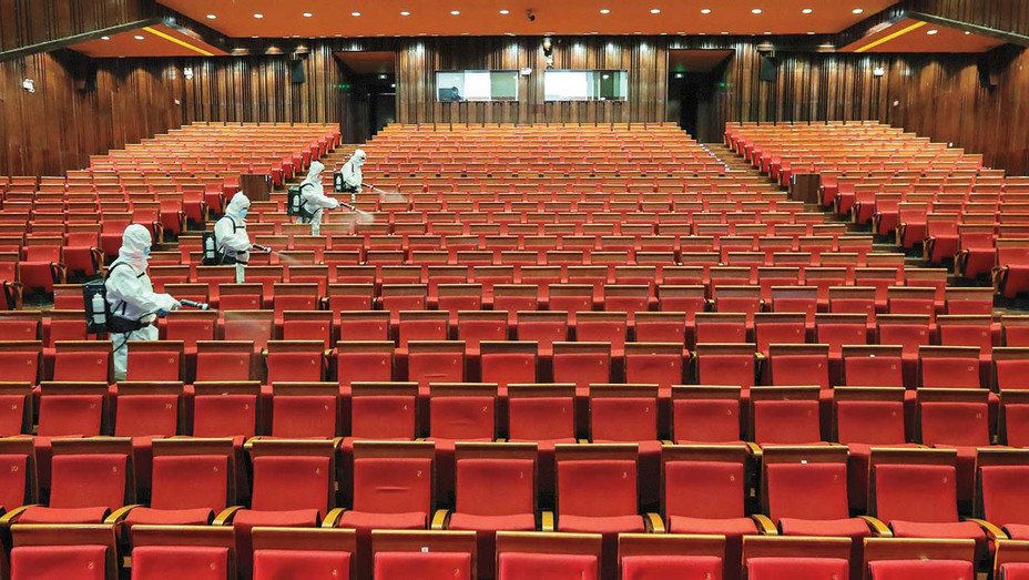 Entertainment Venues to Open -Yantai in China's eastern Shandong province- May 12, 2020 -Getty-H 2020