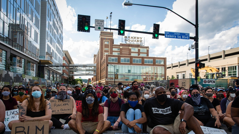 Pittsburgh BLM protest - Getty - H 2020