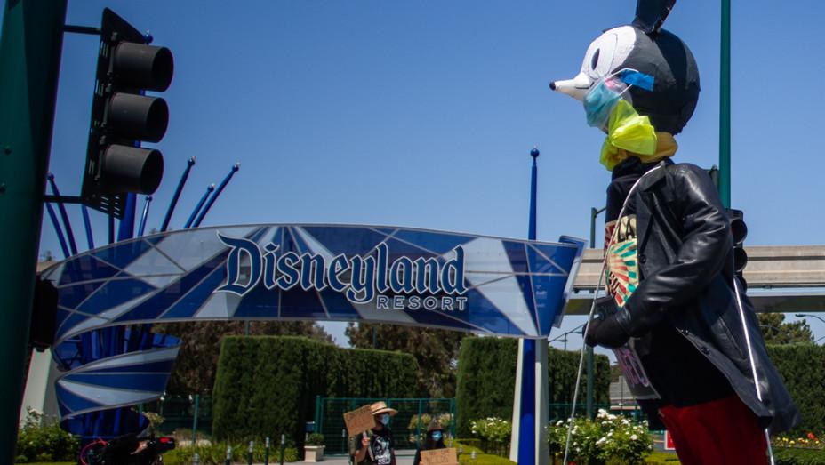 Disneyland Protest June 27 - H 2020