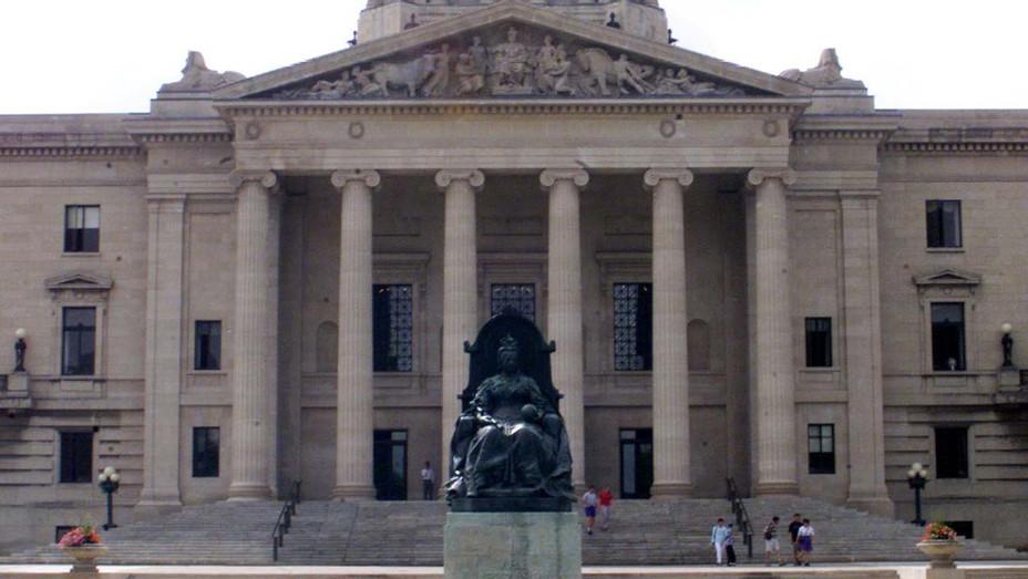 Manitoba Legislative Building - Winnipeg, Manitoba  - Getty - H 2020