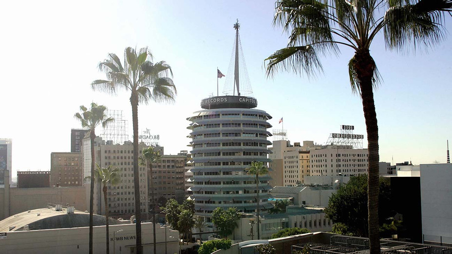 Capitol Records building in Hollywood -City View-Getty -H 2020