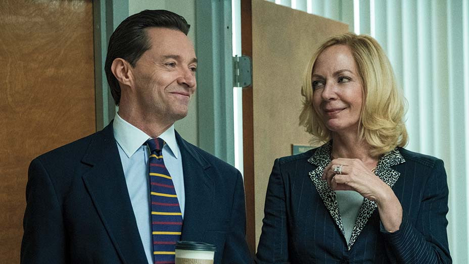 Hugh Jackman and Allison Janney in Bad Education - Publicity-EMBED 2020