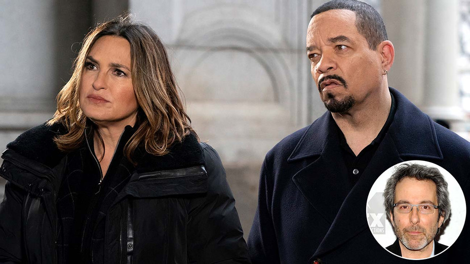 Law & Order: SVU featuring Mariska Hargitay and Ice-T- showrunner Warren Leight -Publicity still - Getty - Inset - H 2020