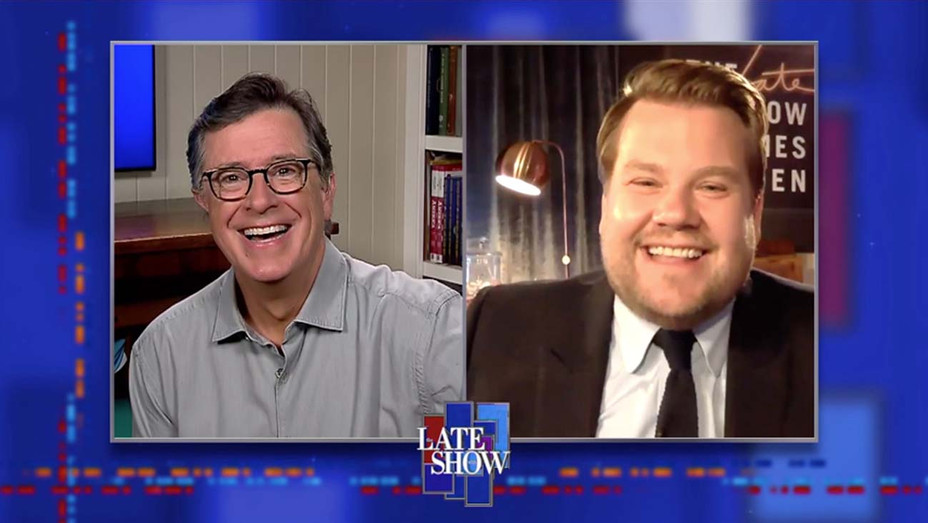 The Late Show with Stephen Colbert and James Corden- June 22, 2020 - Publicity -h 2020