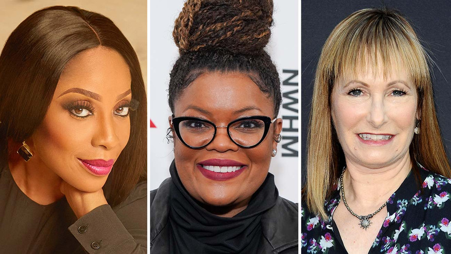 Mo Abudu, Yvette Nicole Brown and Gale Anne Hurd-Split-H 2020