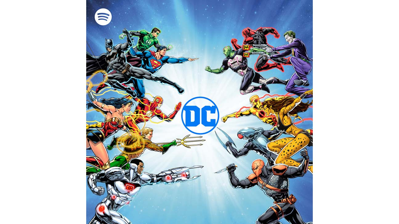 DC Superheroes, Warner Bros. IP Coming to Spotify via Expansive Podcast Deal