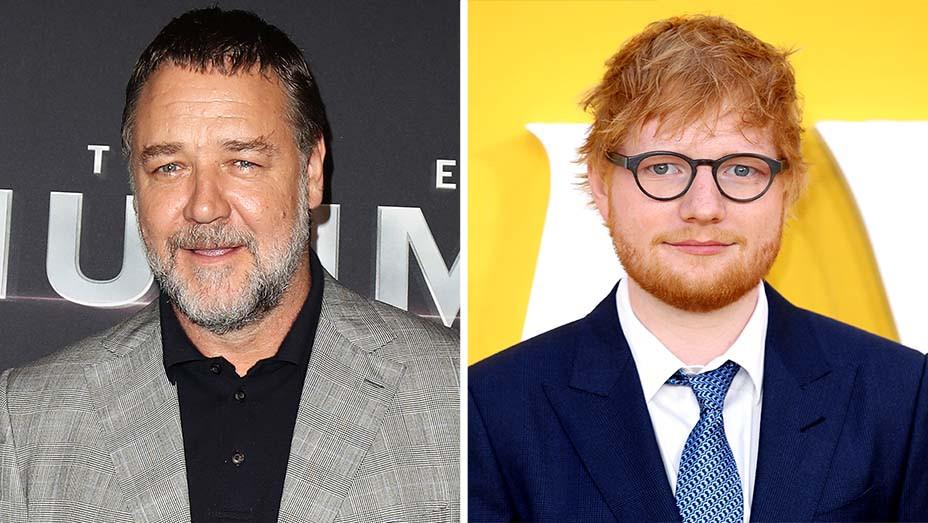 Russell Crowe and Ed Sheeran-Split-Getty-H 2020