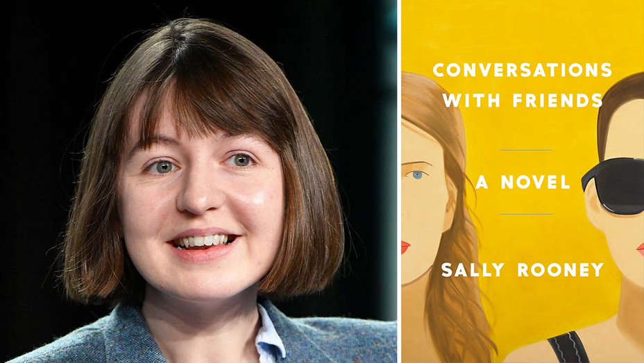 "Sally Rooney split with the cover of her book ""Conversations With Friends"" - Publicity - Split - H 2020"