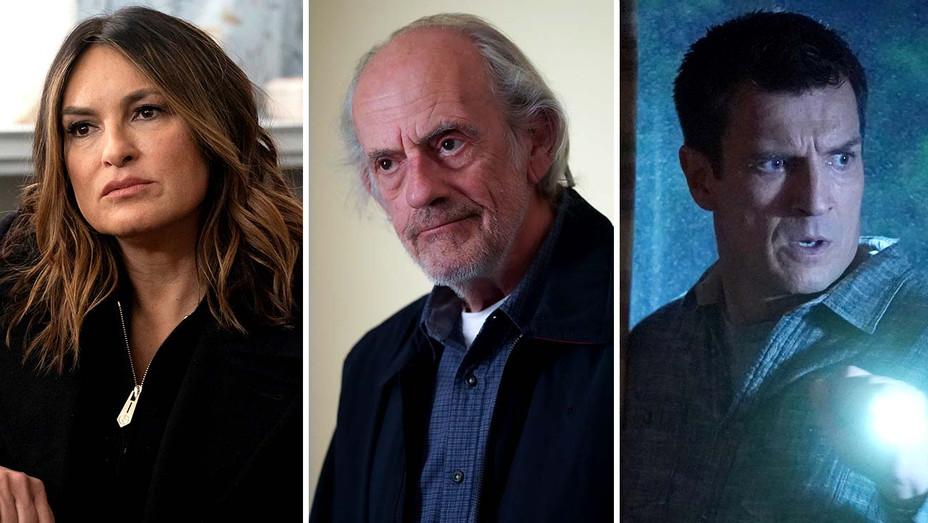 SVU (NBC), NCIS (CBS) and The Rookie (ABC) - Publicity stills - Split - H 2020