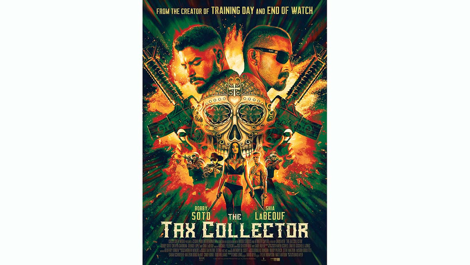 Tax Collector Poster - RLJE Films Publicity -H 2020