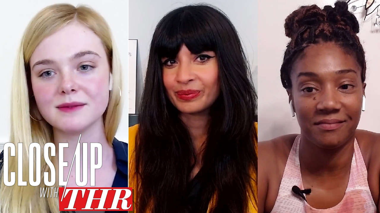 Comedy Actress Roundtable With Jameela Jamil, Tiffany Haddish, Amy Sedaris, Jane Levy, Elle Fanning and Robin Thede