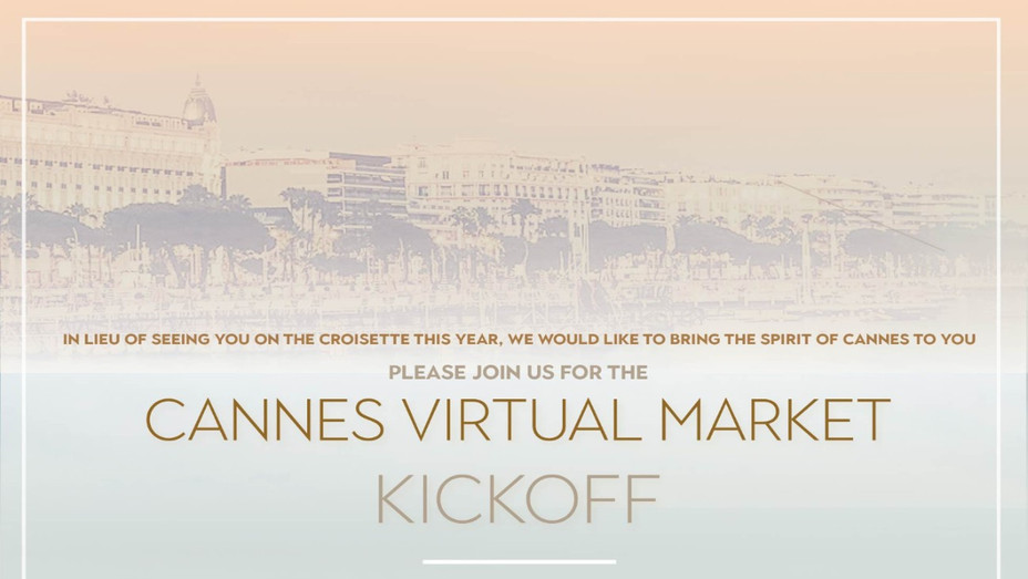 Virtual Cannes Opening Party Invite