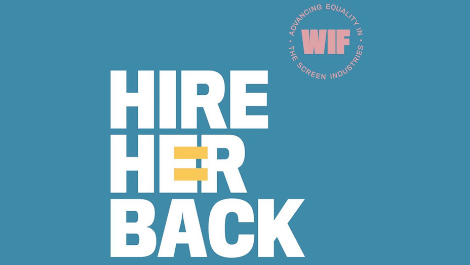 Women in Film -Hire Her Back logo- Publicity - H 2020