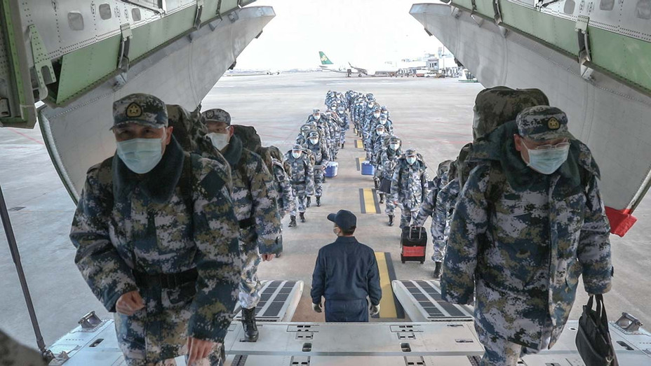 150 Navy medics head to Wuhan - Publicity - H 2020