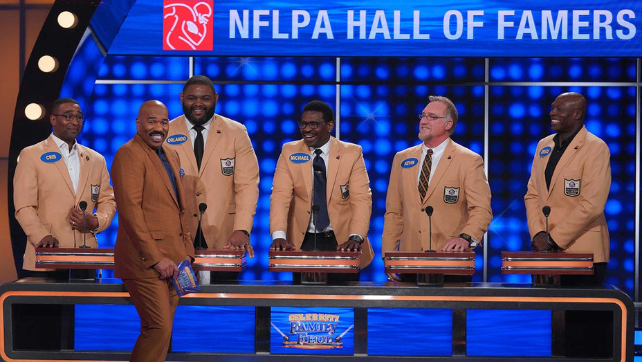 CELEBRITY FAMILY FEUD - NFLPA Hall of Famers vs NFLPA Rising Stars JULY 12 - Publicity -H 2020