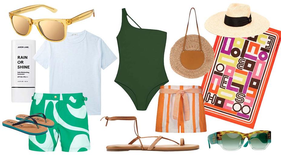 12 Summer Staycation Essentials - Graphic -H 2020