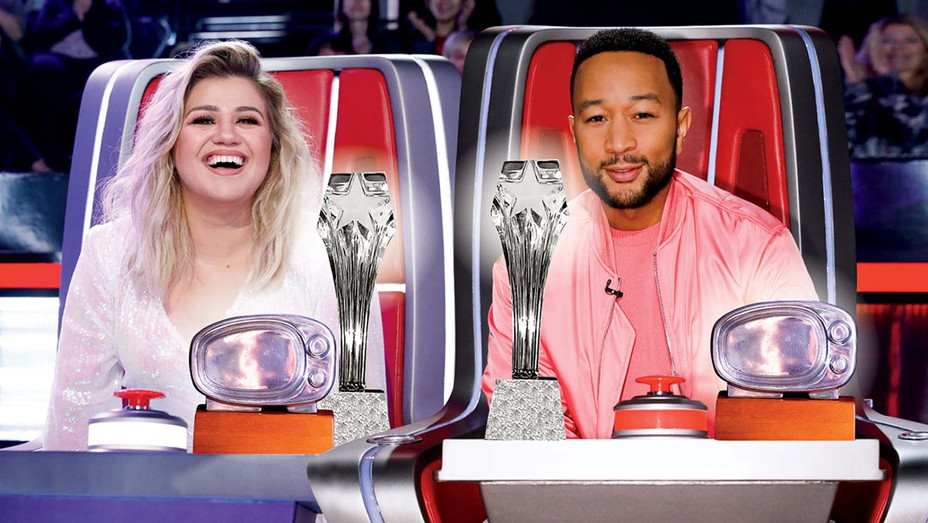 The Voice - Kelly Clarkson and John Legend -Graphic- H 2020