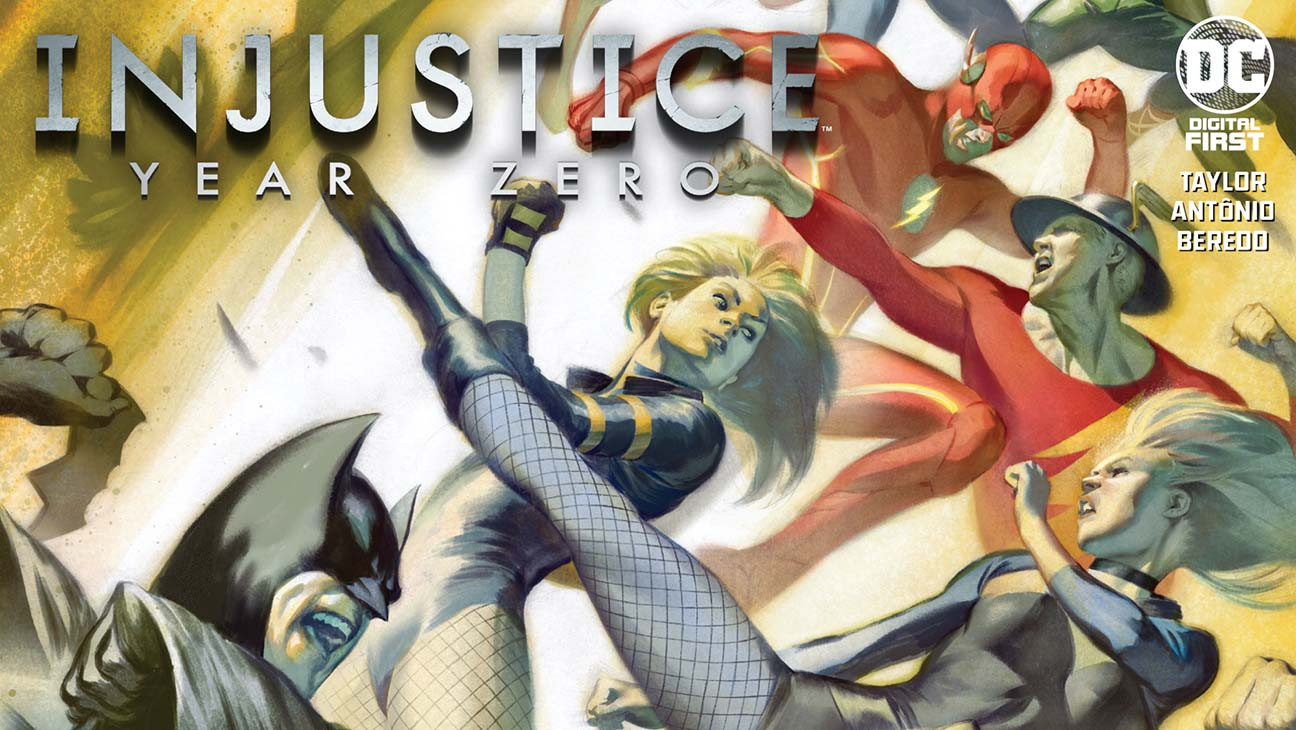 Writer Tom Taylor Unveils DC's 'Injustice: Year Zero'