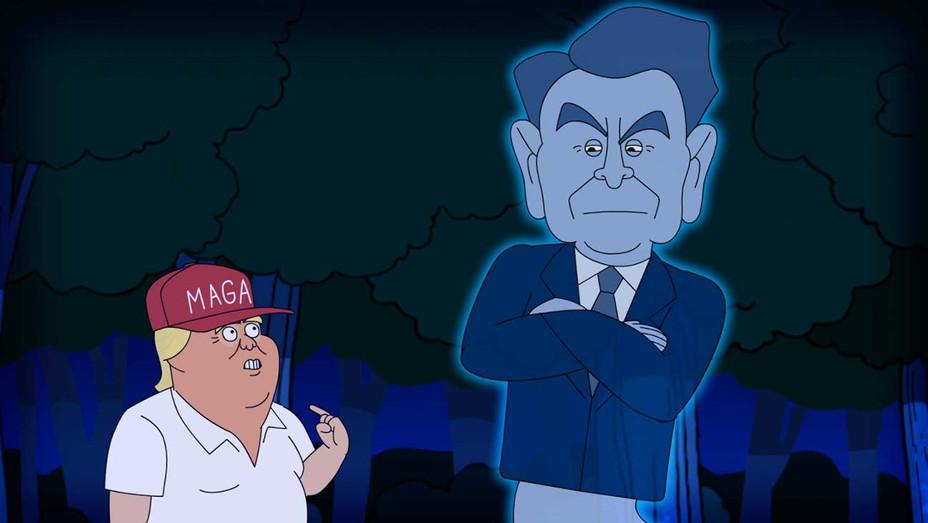 Reagan vs Trump-rap battle political film- Publicity - H 2020