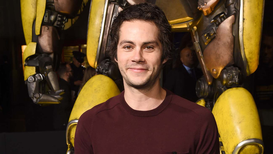 Dylan O'Brien attends the global premiere of Paramount Pictures' film  Bumblebee - Getty -H 2020
