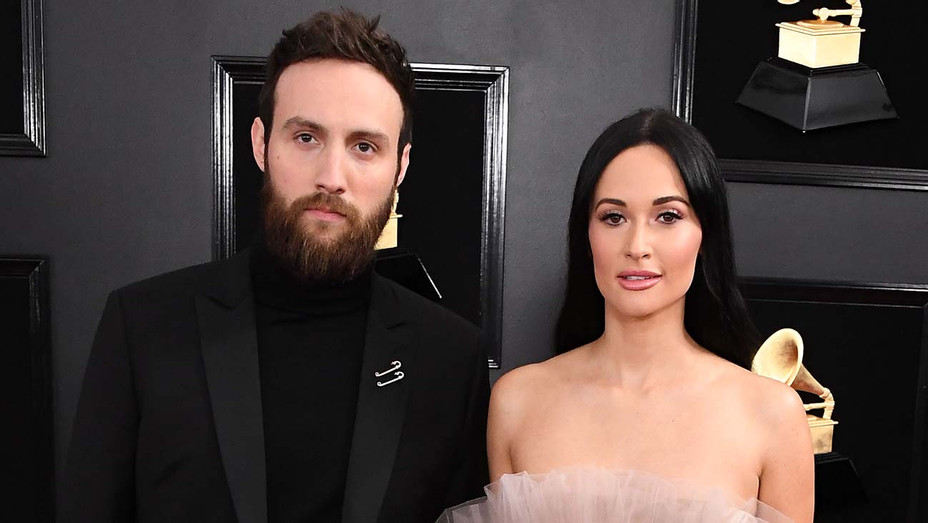 Ruston Kelly and Kacey Musgraves arrives at the 61st Annual GRAMMY Awards - Getty -H 2020