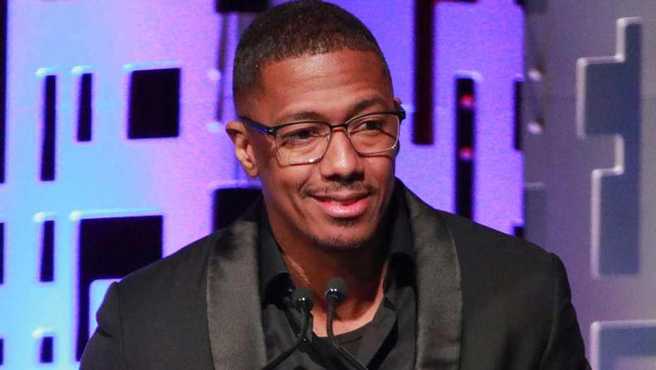 Nick Cannon speaks onstage at The Los Angeles Mission Legacy Of Vision Gala 2019- Getty 2-H 2020