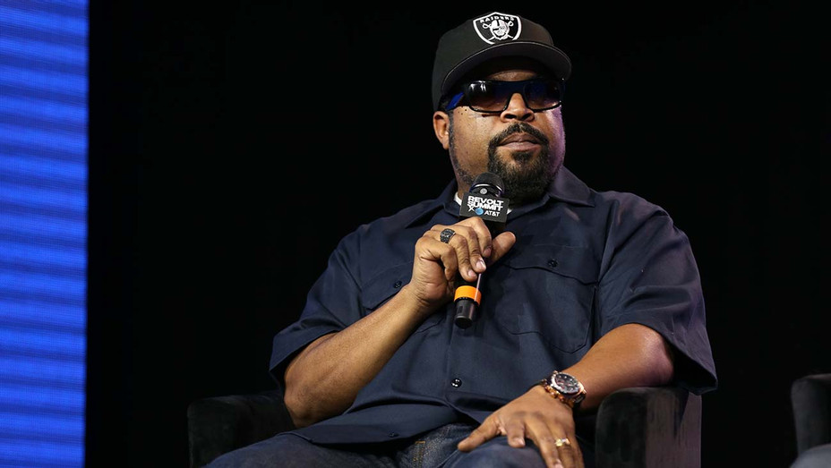 Ice Cube speaks onstage during the REVOLT X AT&T 2019 - Getty-H 2020