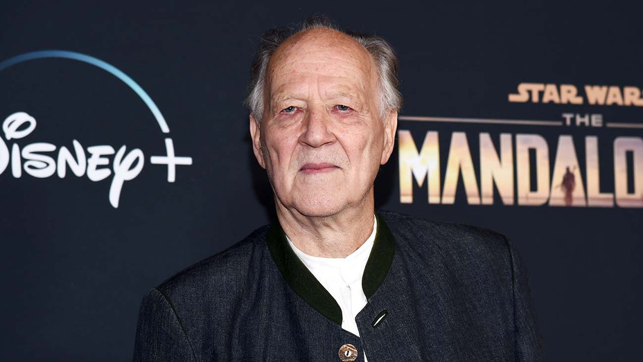 Werner Herzog arrives at the premiere of Disney's The Mandalorian - Getty-H 2020