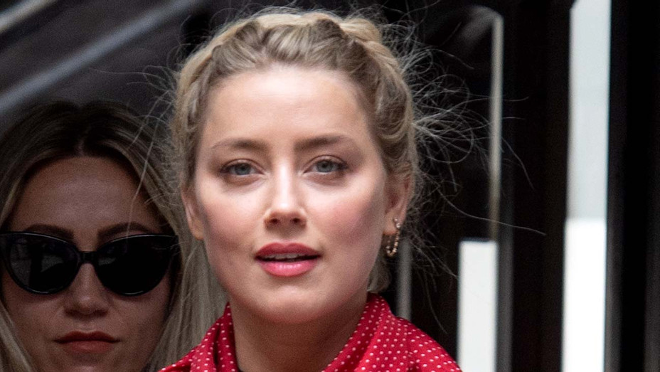 Amber Heard arrives at Royal Courts of Justice, Strand on July 15, 2020 - Getty 1- H 2020