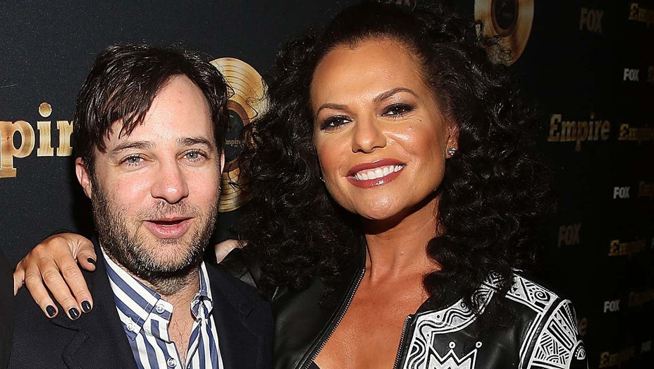 Danny Strong and Sanaa Hamri attend the Spring Premiere of FOX's Empire - Getty-H 2020