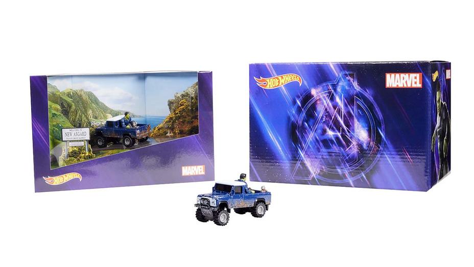 Avengers Hot Wheels - Mattel Publicity - H 2020