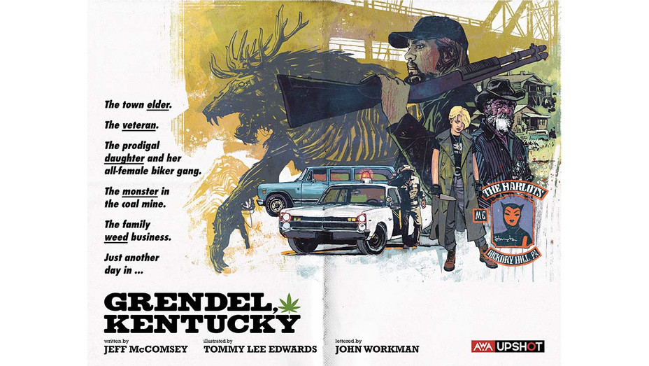 Grendel Kentucky Announcement - Tommy Lee Edwards AWA Publicity-H 2020