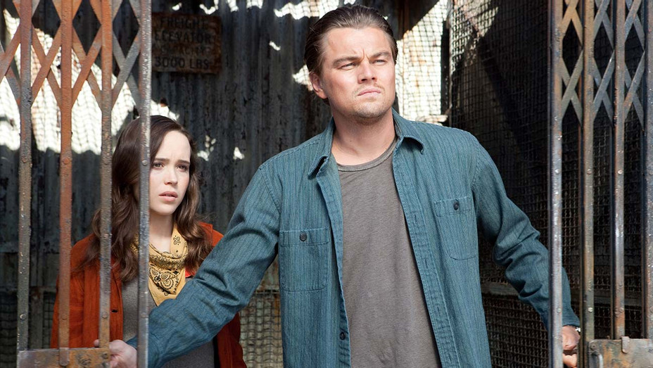Inception (2010) - ELLEN PAGE as Ariadne and LEONARDO DiCAPRIO as Cobb - Photofest -H 2020