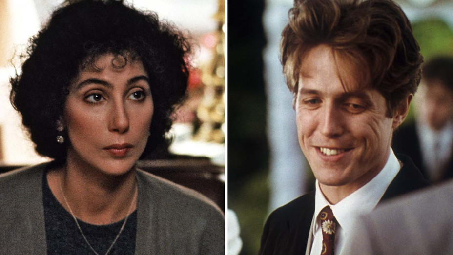 Moonstruck and Four Weddings and a Funeral - Photofest- Split-H 2020
