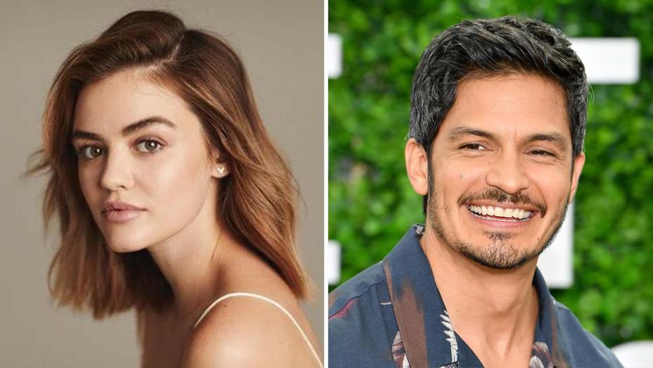 NEW_Lucy Hale and Nicholas Gonzalez - Getty - Split - H 2020