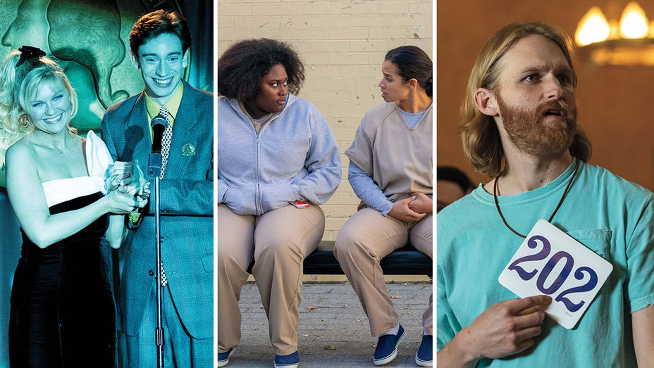 On Becoming a God in Central Florida, Orange Is the New Black, Lodge 49 - Split-Publicity - H 2020