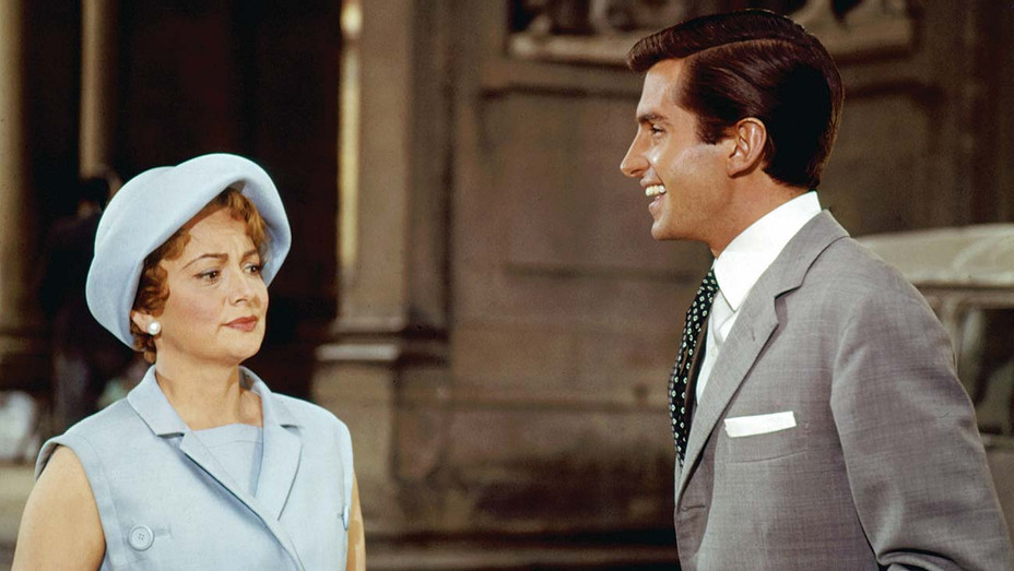 ONE TIME USE ONLY-De Havilland, then 46, and Hamilton, 23, starred  in the 1962 romantic drama Light in the Piazza-EVERETT COLLECTION-H 2020
