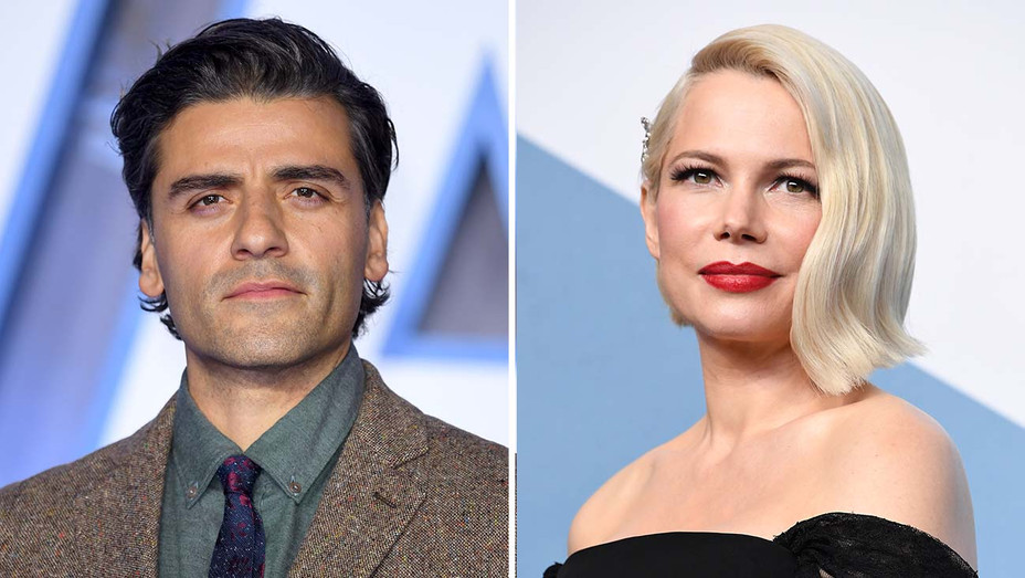 Oscar Isaac and Michelle Williams-Split-Getty-H 2020