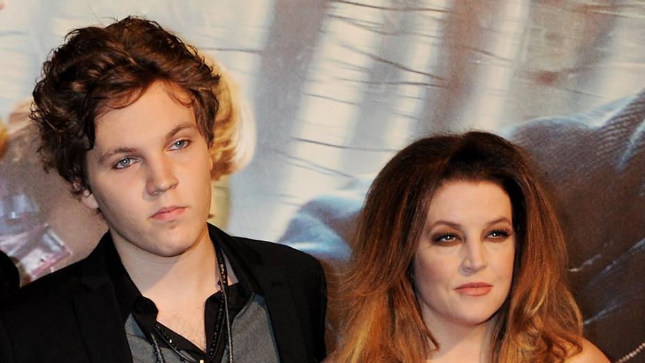 Benjamin Keough and Lisa Marie Presley in 2010 - H Getty 2020