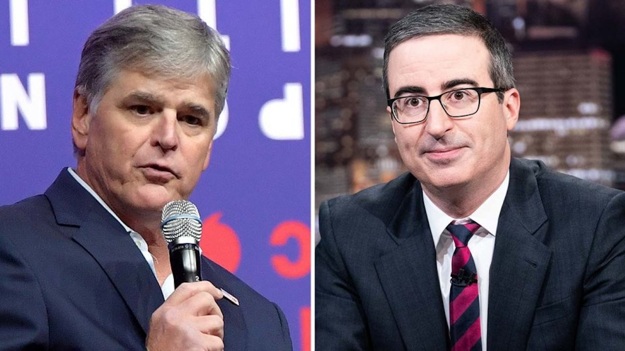 Sean Hannity Unloads on John Oliver Over 'Last Week Tonight' Segment