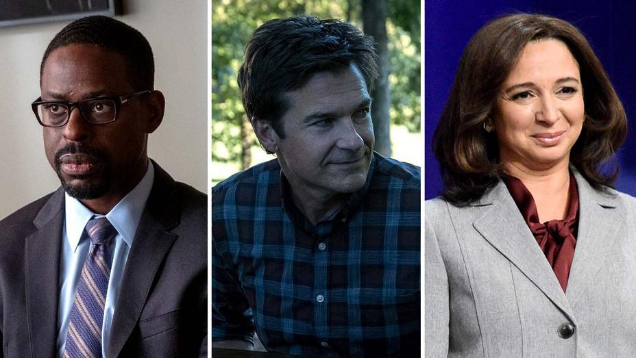 Sterling K. Brown in 'This is Us', Jason Bateman in 'Ozark' and Maya Rudolph as Kamala Harris on 'Saturday Night Live-Publicity stills - Split - H 2020