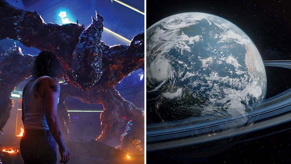 Stranger Things and Cosmos - Split - Publicity - H 2020